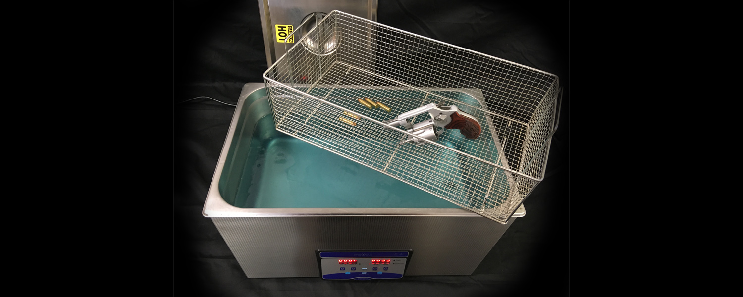 Pro Gun Cleaning - ultrasonics for firearms