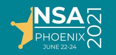 National Sheriff's Association Trade Show June 22-24, 2021